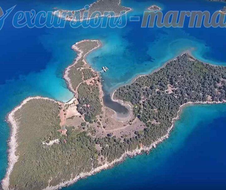 острова на клеопатра