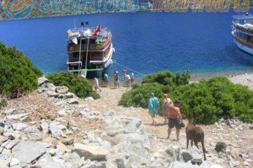 hisaronu boat trip
