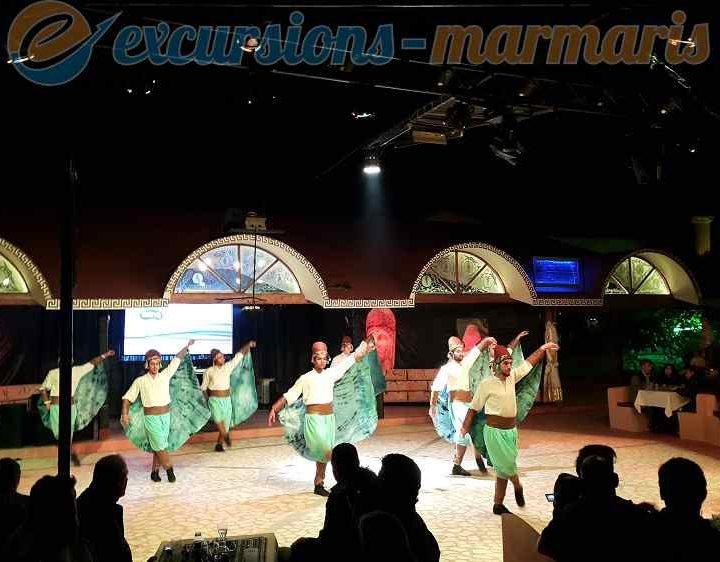 Шоу Турска вечер в мармарис