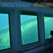 Полу-подводная лодка