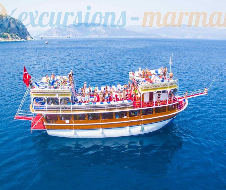 екскурзия с корабче в мармарис