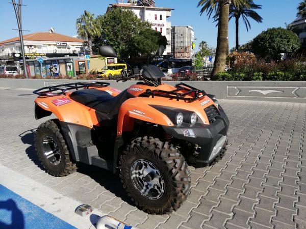 Rent a Quad - Jumbo 400 cc